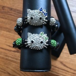 Other - NWOT Hello Kitty  2 Piece  Adjustable Bracelets.